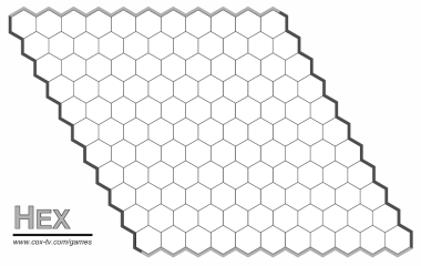 graphic relating to Hex Paper Printable identified as Print hexboards
